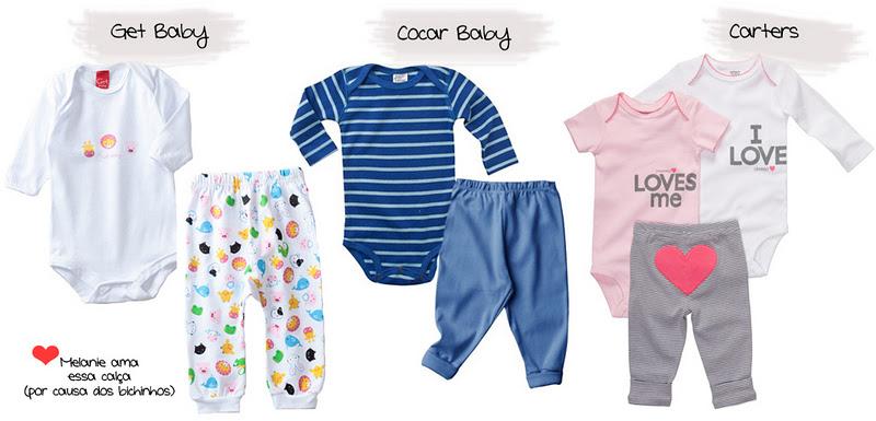 Enxoval do Bebê – Roupinhas  O que você realmente precisa comprar ... d063874ed68