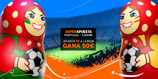 Superapuesta 888sport mundial 2018 Portugal vs España 15 junio