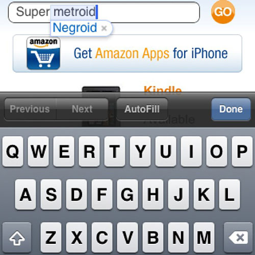 not the game i was looking for iphone auto correct