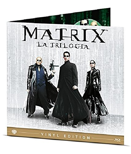 The Matrix Collection (Vinyl Edition) (3 Blu-Ray)