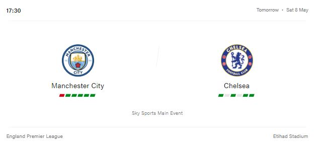 Manchester City vs Chelsea Livestream, Preview and Prediction 2021