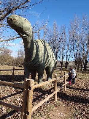 Parque Jurásico Beceite Beseit dinosaurio 5
