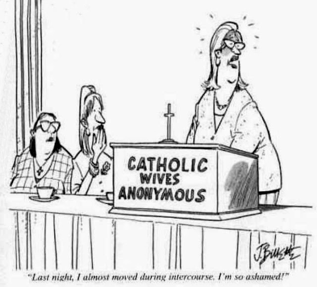Funny Catholic Wives Anonymous Cartoon Picture