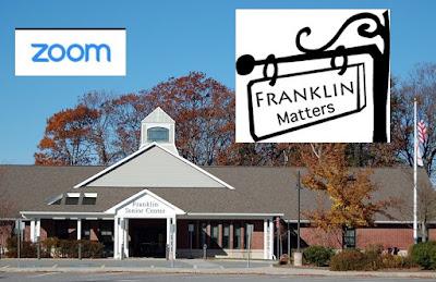 """talk """"Franklin Matters"""""""