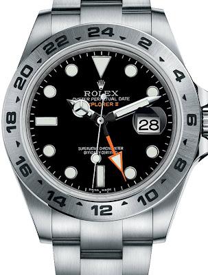 Pajak Rolex (Rolex 216570-Explorer-II-Black-Dial)-RM20,000