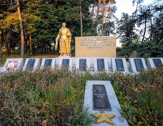 Запсілля. Краснопільський р-н. Сумська обл. Військовий меморіал