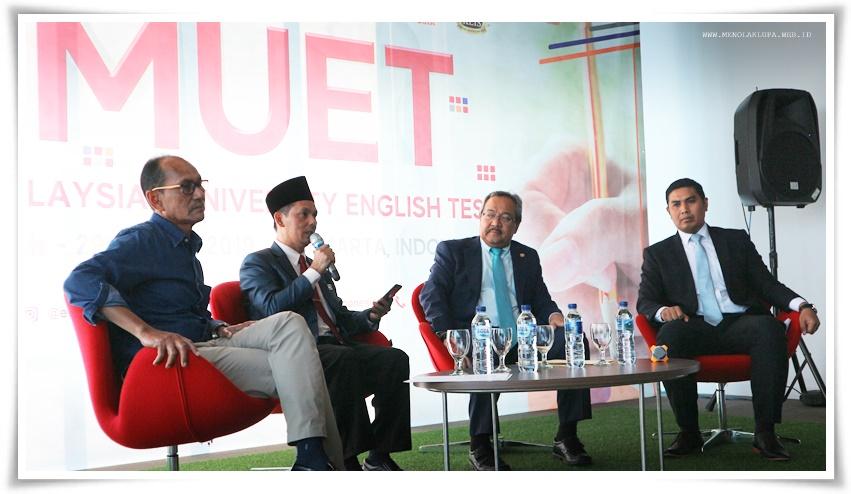 tes MUET Malaysia digelar perdana di KLIS Jakarta sebagai syarat kuliah di Malaysia