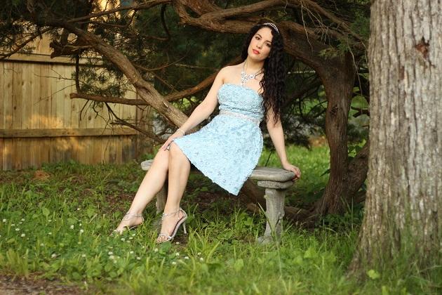 Blue Disney Cinderella Dress