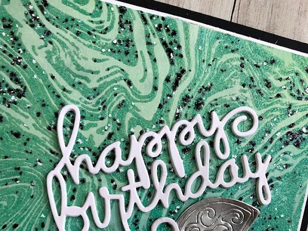 Marbled Birthday