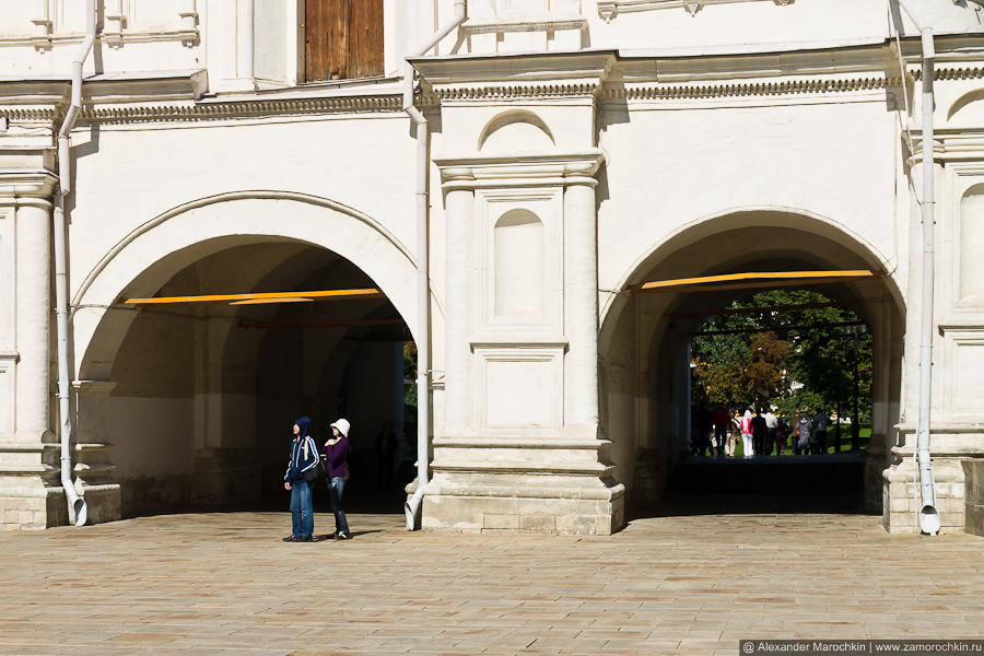 Арки Патриаршего Дворца | The arches of the Patriarch's Palace