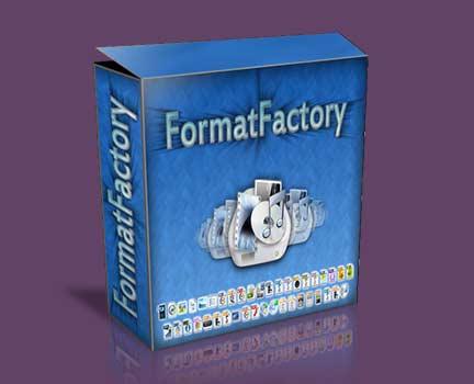برنامج  فورمات فاكتوري (FormatFactory)