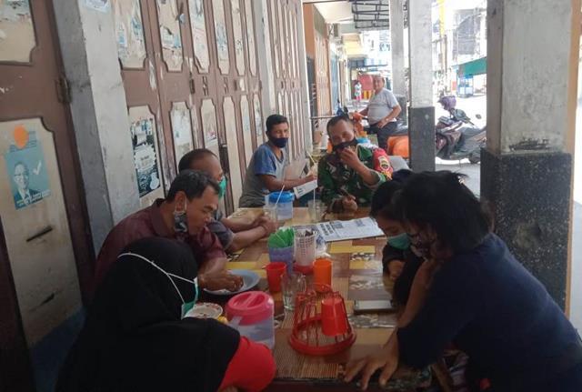 Melalui Koramil 02/Siantar Timur Jajaran Kodim 0207/Simalungun Lakukan Komunikasi Sosial Dengan Mitra Karib
