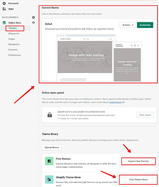 how to build a Shopify website