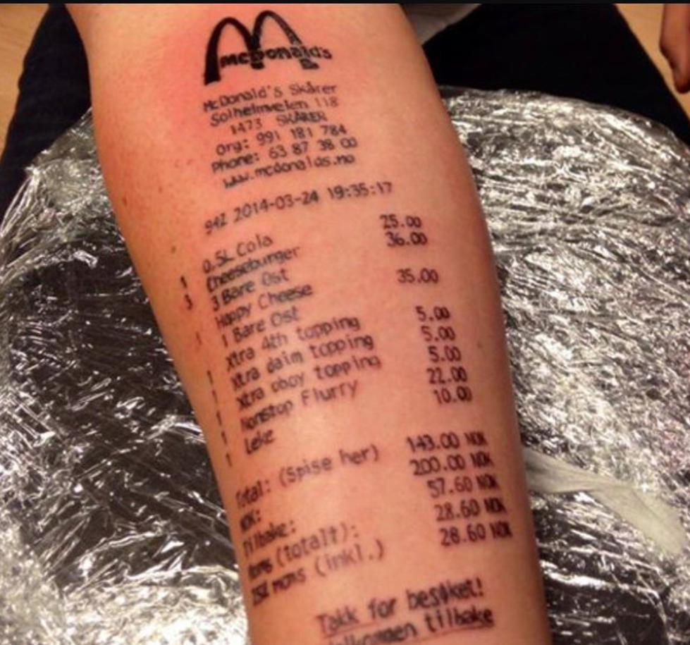 tatuering på armen