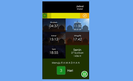 Aplikasi Adzan Otomatis Offline PC - Muslim Daily