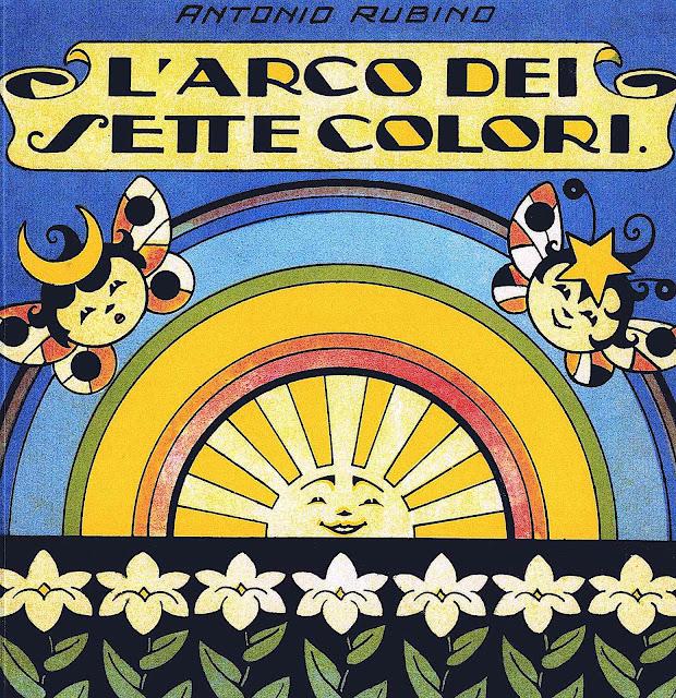 an Antonio Rubino 1928 children's book, L'arco dei sette colori