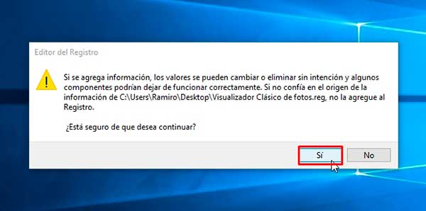 restaurar el antiguo visualizador de fotos en windows