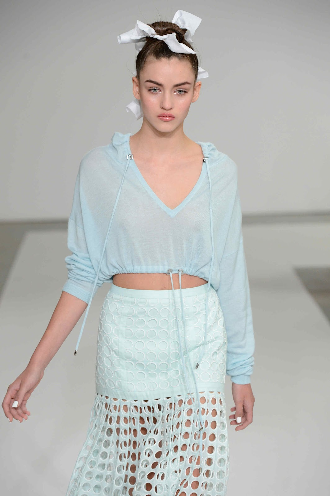 Zimmermann Feminine Dresses New York Fashion Week: Mademoiselle Katia: Zimmermann Spring- Summer 12/13