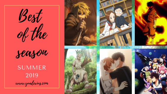 Summer 2019 Anime Season Review