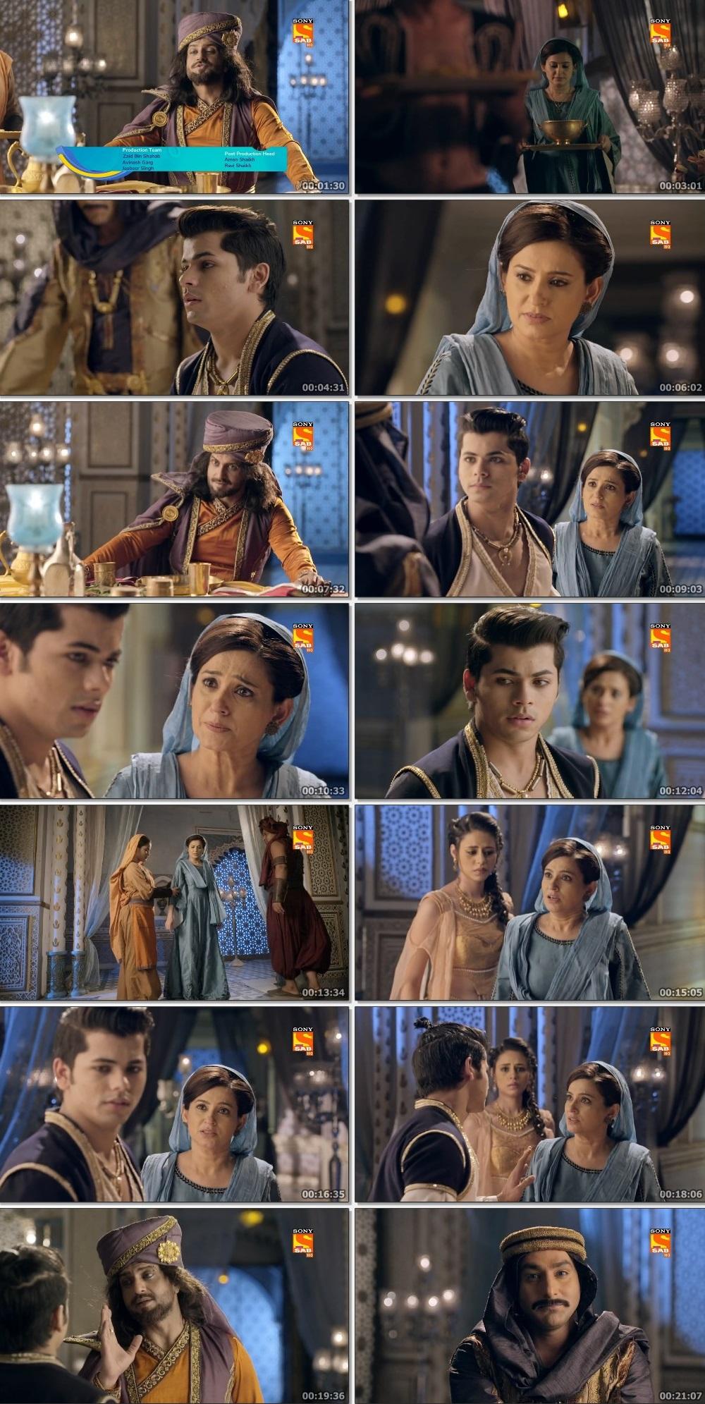 Screenshots Of Hindi Show Aladdin – Naam Toh Suna Hoga 2019 Episode 223 300MB 720P HD