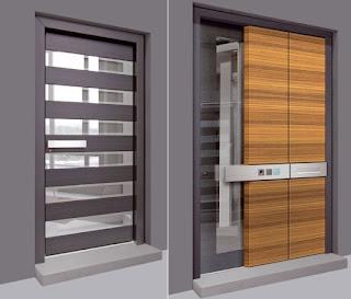 Reka Bentuk Pintu Utama Rumah Minimalis Moden Rekabentuk Rumah