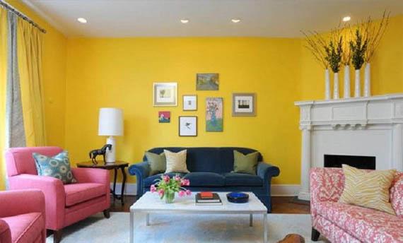 Warna Cat Jotun untuk Ruang Tamu