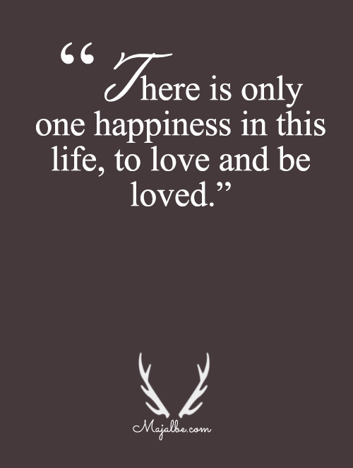 Only One Happiness