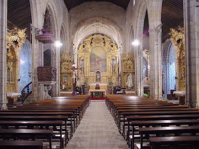 interior da igreja matriz de Vila do Conde