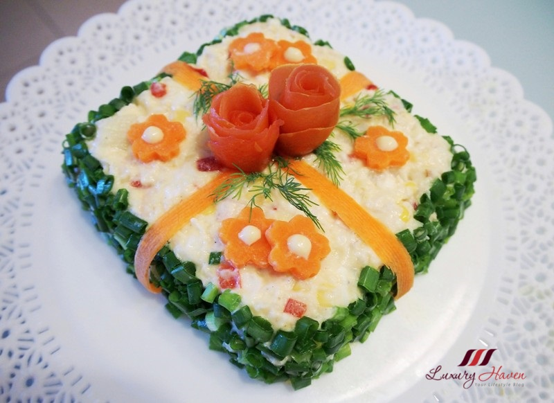 halal japanese potato salad cake eye candy recipe
