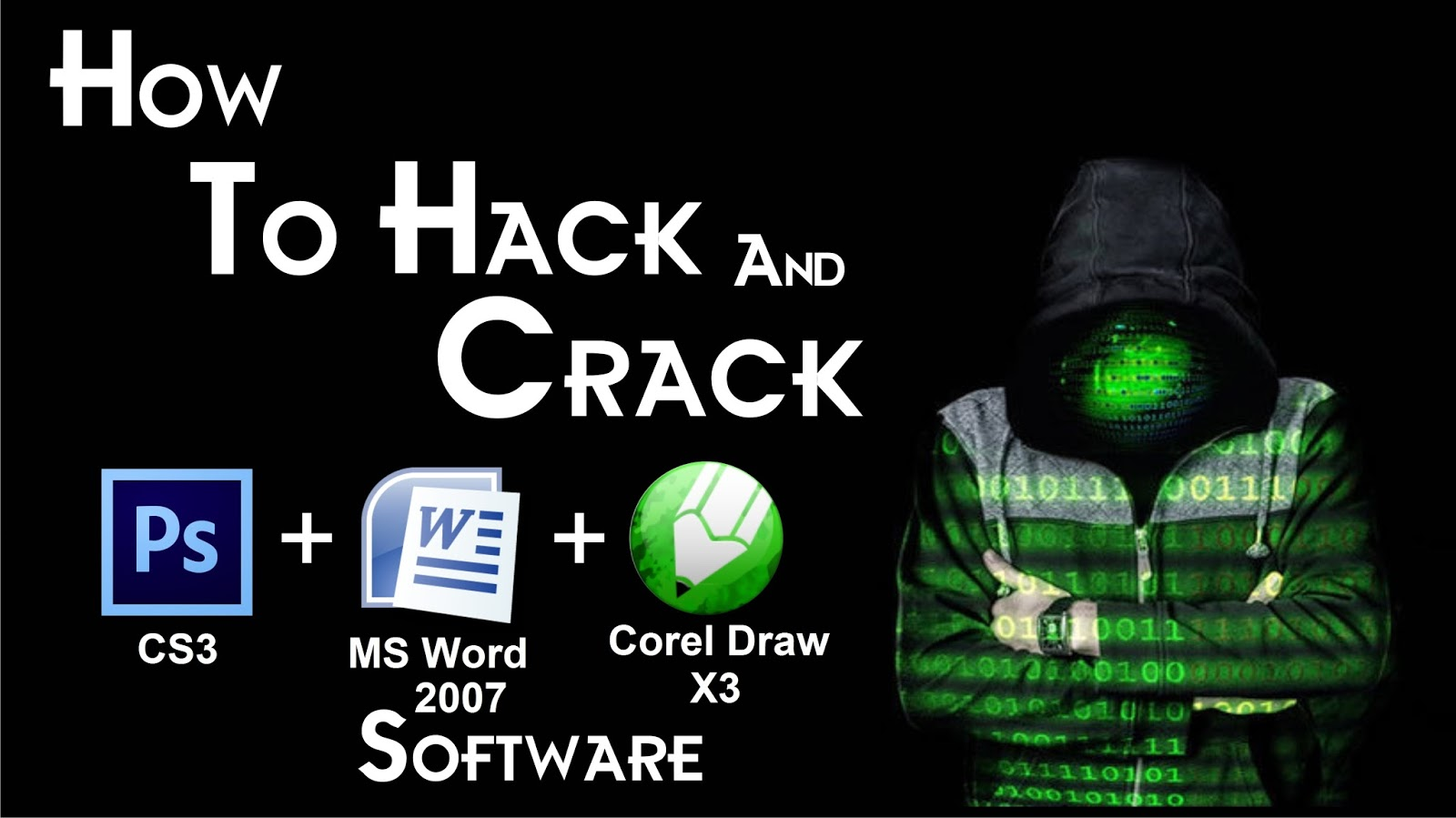 how to crack any software in hindi
