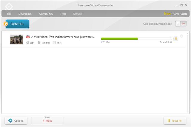 تنزيل برنامج فري ميك فيديو داونلودر لتحميل ملفات الفيديو من مواقع مشاركة الفيديو مثل يوتيوب وفيس بوك وفيميو مجانا.