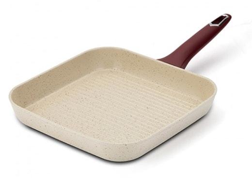Tigaie ceramica grill, Eco Friendly Terrestrial, 27 cm