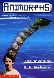 A boy (Jake) turns into a lizard