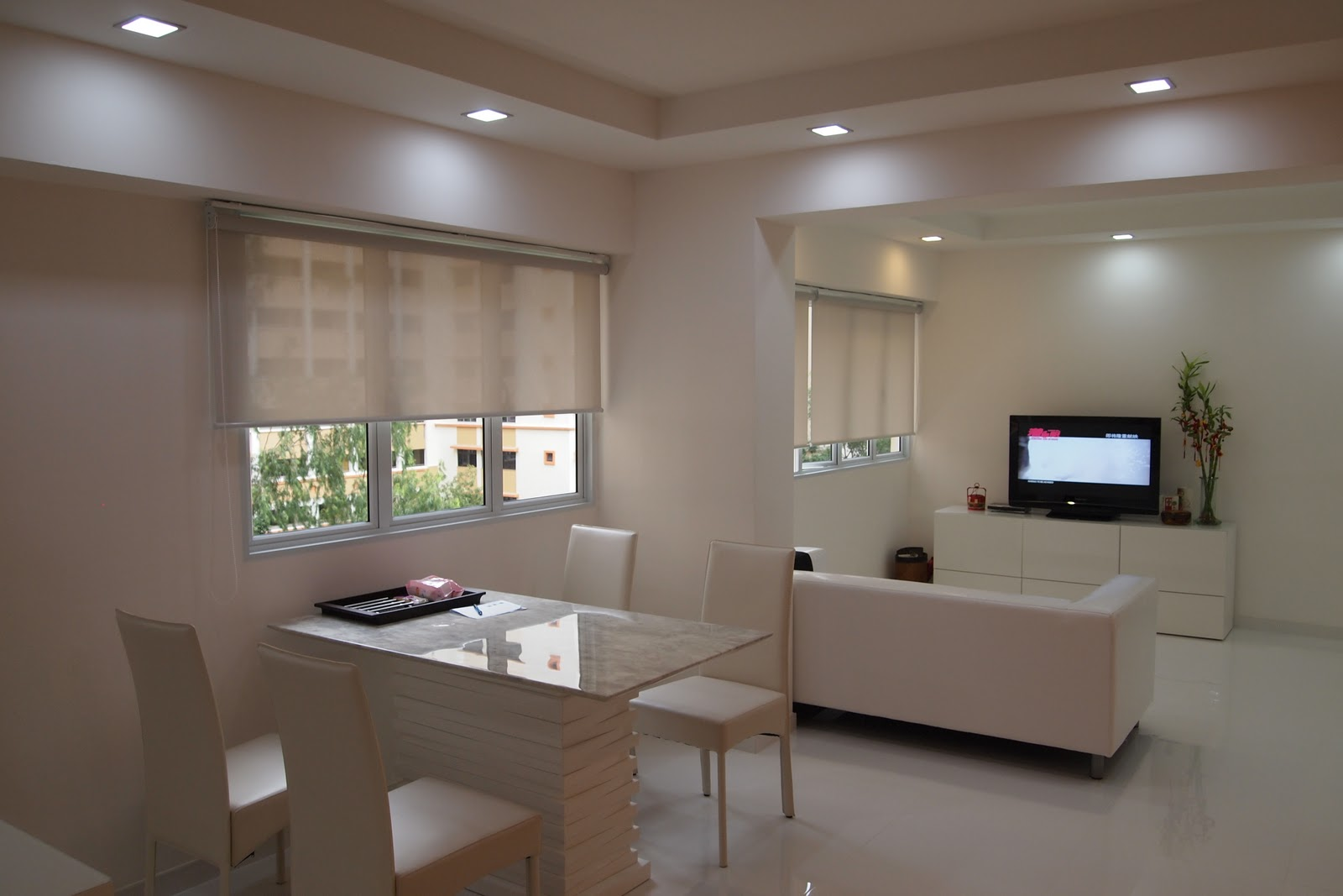 Plaster Ceiling & Partition Drywall Singapore: Living room