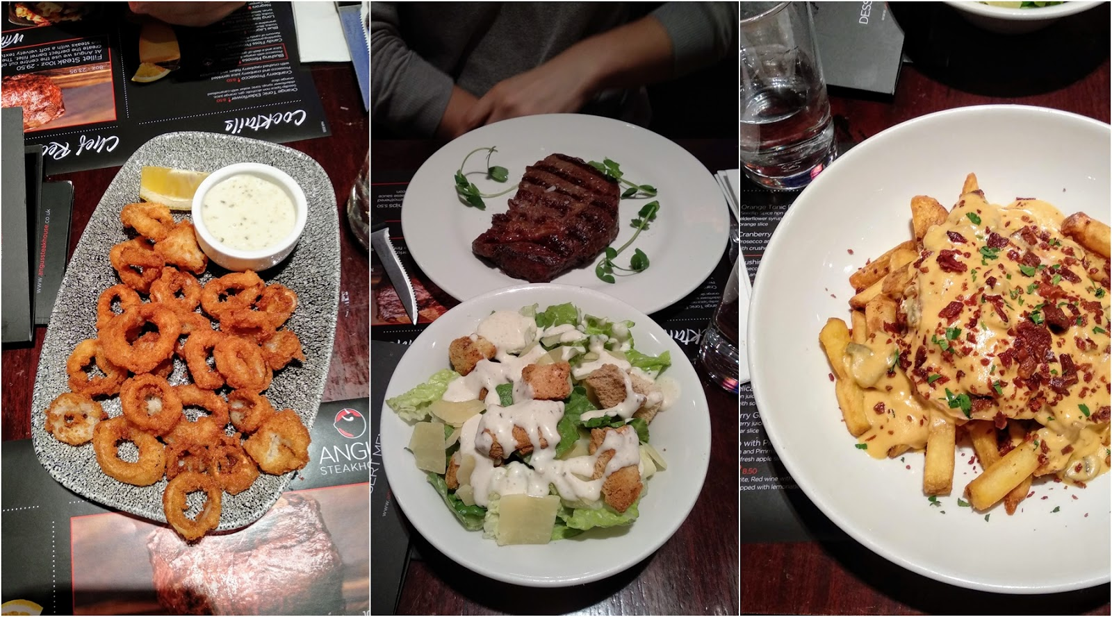 Londres Hotel e Restaurantes - Angus Steakhouse