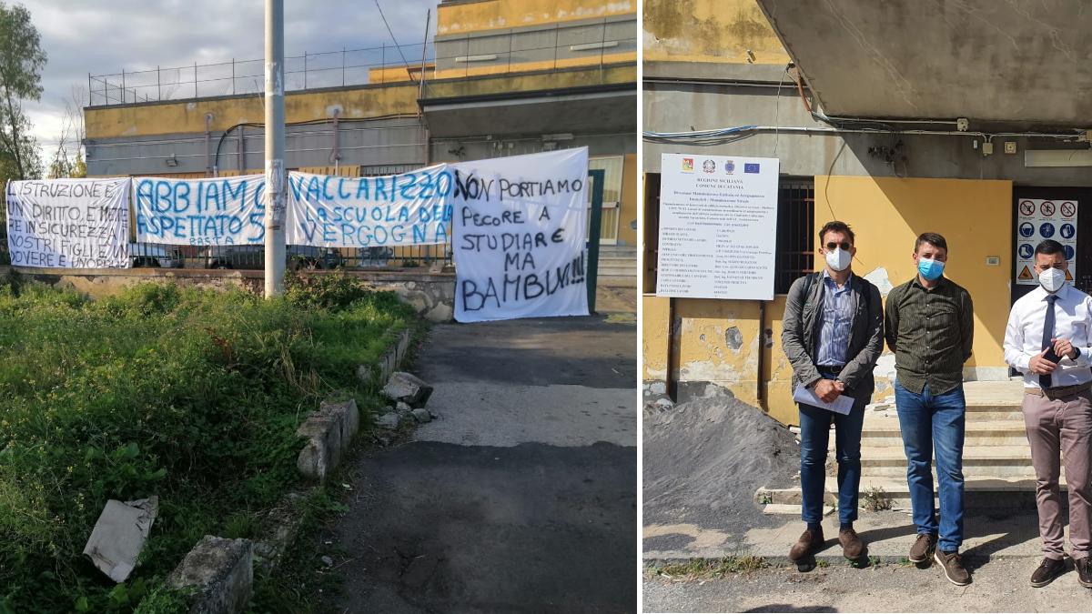 Istituto comprensivo Fontanarossa plesso Vaccarizzo adeguamento antisismico
