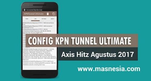 Download Config KPN Axis Hitz Premium 1 Bulan .ktcu Gratis Terbaru