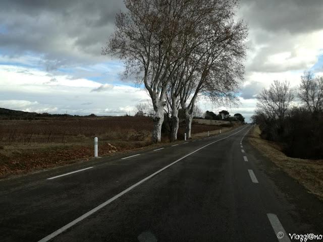 Le strade della Provenza in inverno