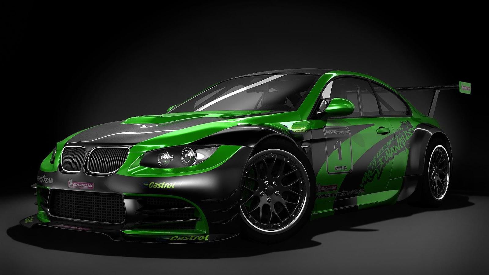 BMW Castrol Car | Full HD Desktop Wallpapers 1080p