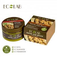 Ecolab - tabelka ze składami produktów do włosów