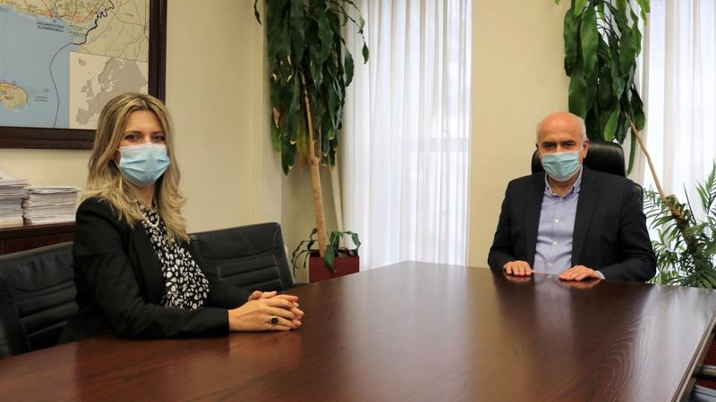 Η εκπαιδευτικός Αλεξάνδρα Γκουλιάμα ορίστηκε ειδική σύμβουλος της Περιφέρειας ΑΜ-Θ σε θέματα Παιδείας