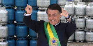 Governo Bolsonaro autoriza aumento no preço do gás de cozinha nesta sexta