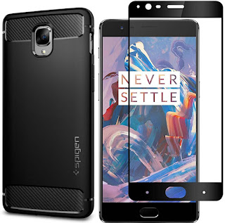 OnePlus 3T Best Tempered Glass Screen Protector Cases and Covers