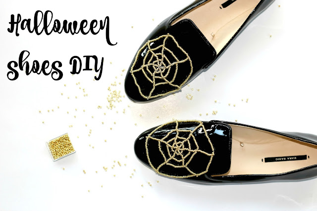 Pearls, spiderweb, shoes, DIY, Charlotte Olympia, inspired