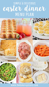 This simple and delicious Easter dinner menu plan has everything you need to make an unforgettable holiday meal!