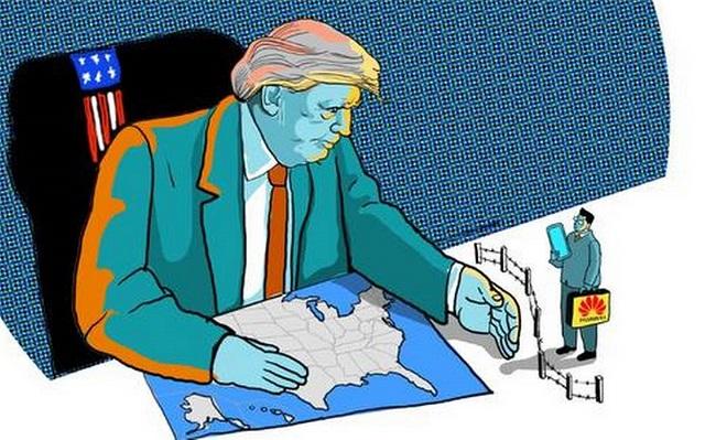 ترامب وهواوي.. هل ستسقط هواوي؟