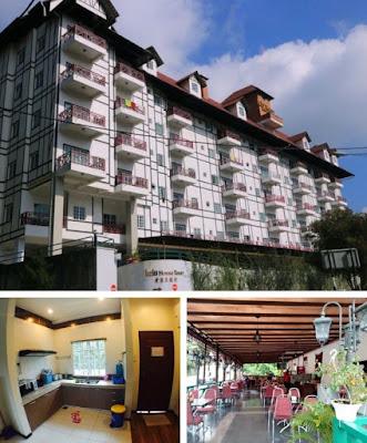 Hotel iris cameron highland suasana