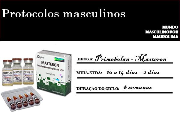 Anabolics #47 Ciclo de Primobolan e Masteron (Massa Magra/Cutt/ Médio)