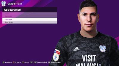 PES 2020 Faces Neil Etheridge by Rachmad ABs