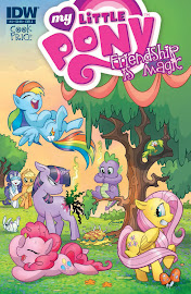 MLP Friendship is Magic #4 Comic